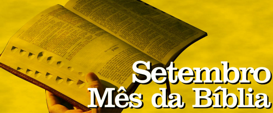 Setembro Mês da Biblia